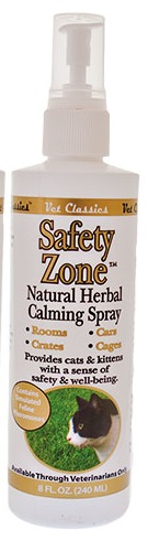 Safety Zone Herbal Calming Spray for Cats