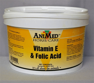 AniMed Vitamin E & Folic Acid
