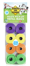 Bags On Board Waste Pick-Up Refill Bags