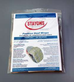 Stayons Prefilled Poultice Hoof Wraps