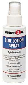 Blue Lotion Spray