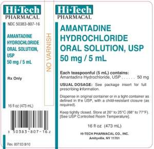 Amantadine Hydrochloride Oral Solution