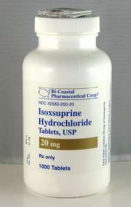 Isoxsuprine Hydrochloride 20 mg Tablets