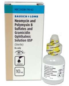 Neopolygram Ophthalmic Solution